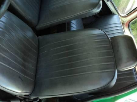1970 Honda N600 interior