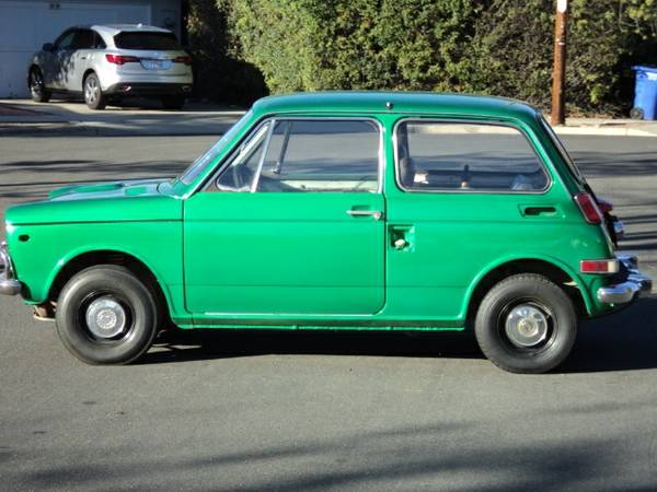 japanese classics 1970 honda n600 rusty but trusty. Black Bedroom Furniture Sets. Home Design Ideas