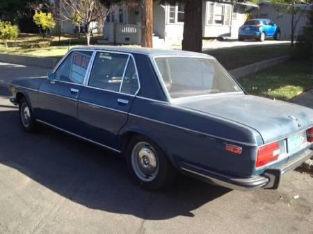 1972 BMW Bavaria blue left rear