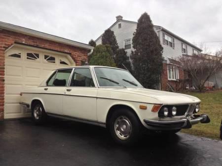 1972 BMW Bavaria white right front