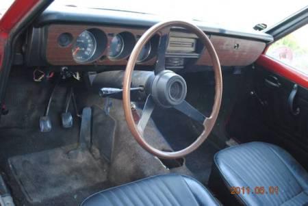 1972 Mazda 1200 interior