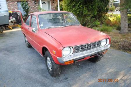 1972 Mazda 1200 right front