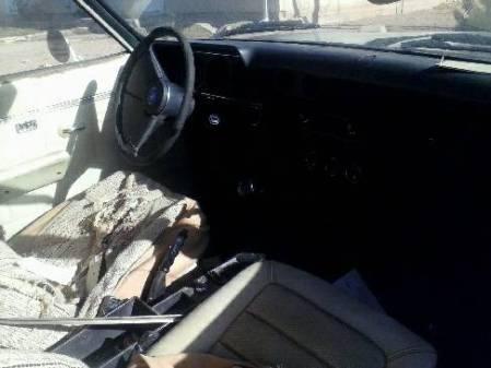 1972 Opel Manta interior