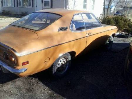 1972 Opel Manta right rear