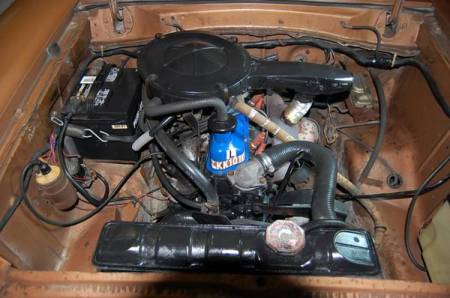 1973 Ford Pinto engine