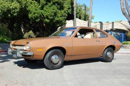1973 Ford Pinto left front