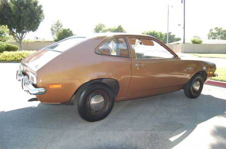1973 Ford Pinto right rear