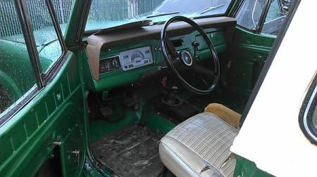 1973 Jeep Commando interior