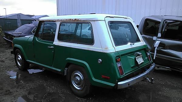 Incognito 1973 Jeep Commando C104 Rusty But Trusty