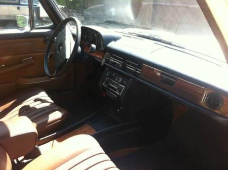 1973 Mercedes 280 interior