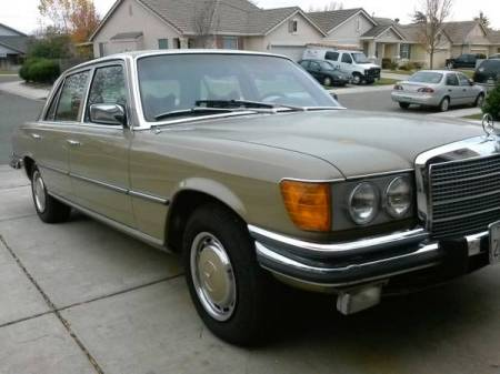 1973 Mercedes 450 SEL right front