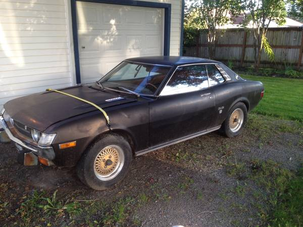 Japanese Coupes 1974 Toyota Celica 18rg And 1972 Mazda