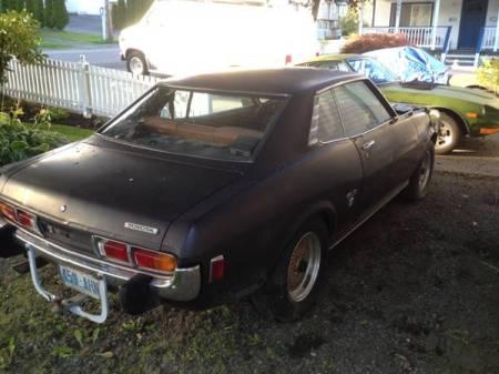 1974 Toyota Celica right rear