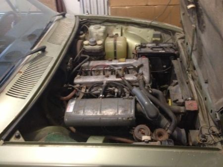 1975 Alfa Romeo Alfetta Berlina engine