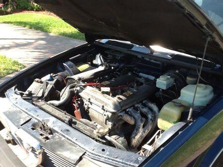 1978 Alfa Romeo Alfetta Berlina engine