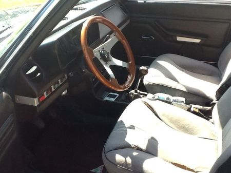 1978 Alfa Romeo Alfetta Berlina interior