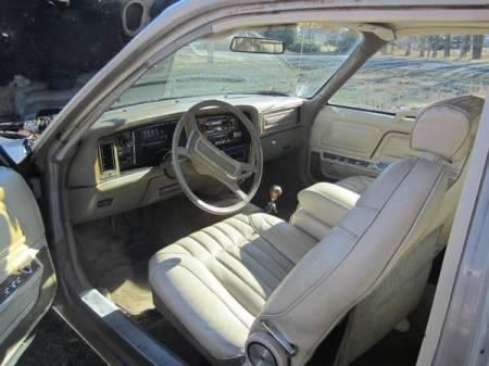 1979 AMC Pacer DL wagon interior