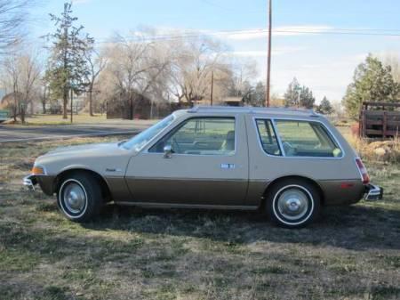 1979 AMC Pacer DL wagon left side