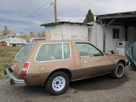 1979 AMC Pacer DL wagon right rear
