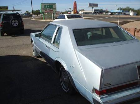 1981 Chrysler Imperial Sinatra left rear