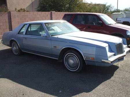 1981 Chrysler Imperial Sinatra right front