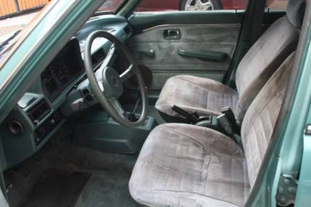 1981 Honda Accord interior