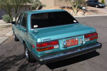 1981 Honda Accord left rear