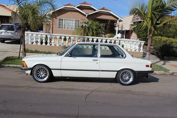 Stanced Again 1982 Bmw 320i Rusty But Trusty