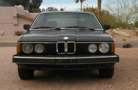 1983 BMW 733i 5 speed front