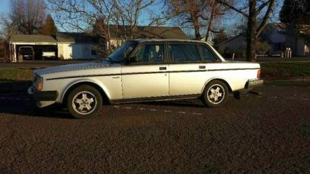 1983 Volvo 244 Turbo left side