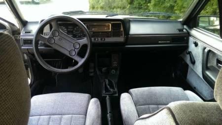 1986 VW Quantum Syncro interior