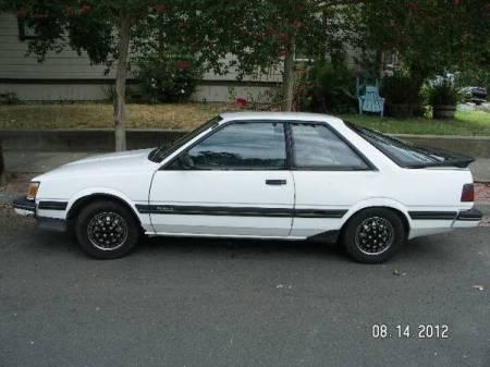 1987 Subaru GL turbo left side