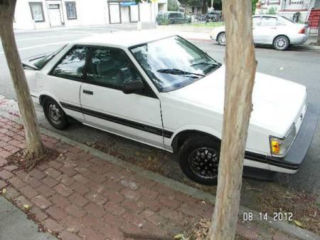 1987 Subaru GL turbo right front