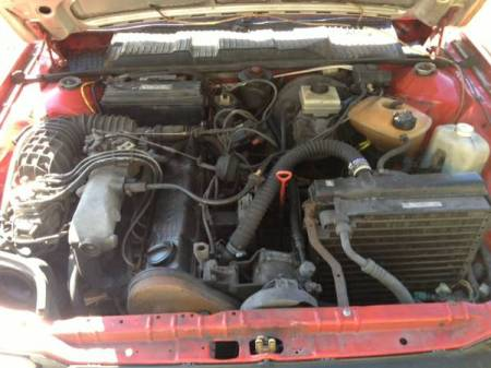 1988 VW Quantum Syncro engine