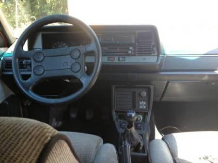 1988 VW Quantum Syncro interior