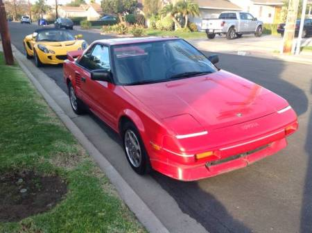 1989 Toyota MR2 right front