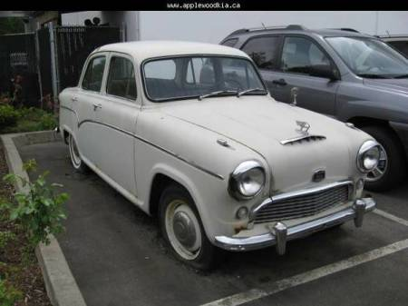 1958 Austin A55 Cambridge right front