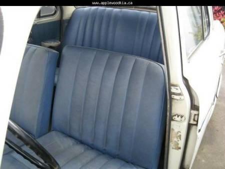 1958 Austin A55 Cambridge seats