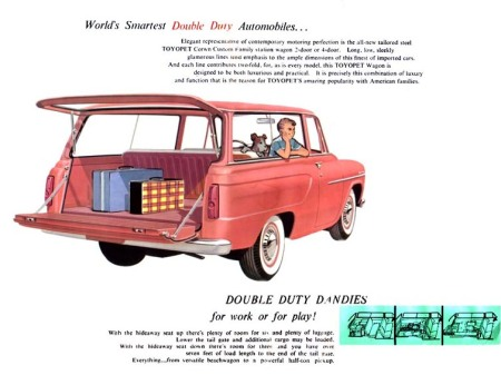 1959 Toyopet Crown Custom Station Wagon ad