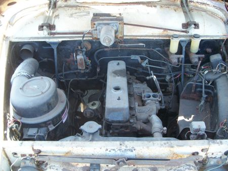 1959 Toyopet Crown Custom Station Wagon engine