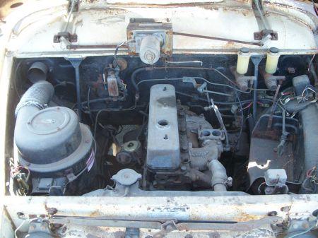 1959 Toyopet Crown Custom Station Wagon engine