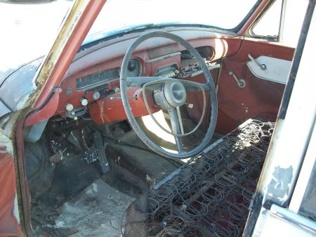 1959 Toyopet Crown Custom Station Wagon interior