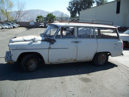 1959 Toyopet Crown Custom Station Wagon left side
