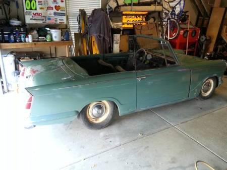 1962 Triumph Herald right rear