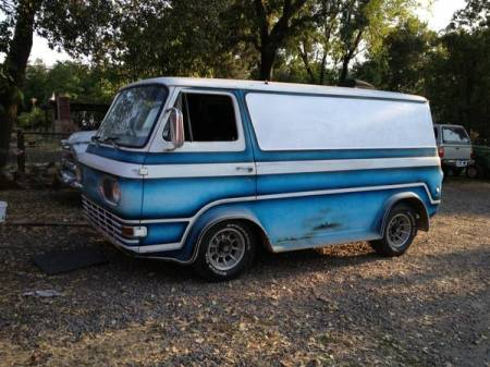 1964 Ford Econoline left front