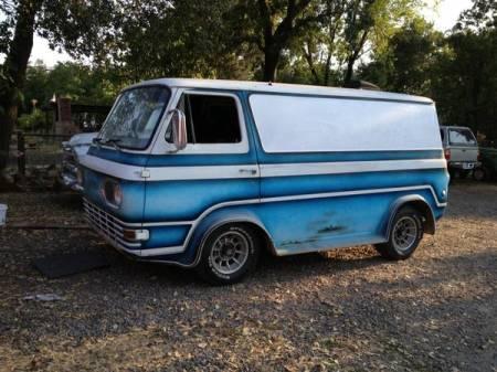1964 Ford Econoline left front