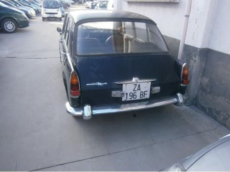 1965 Innocenti-Morris IM3 rear