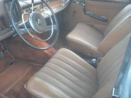 1966 Mercedes 230S interior