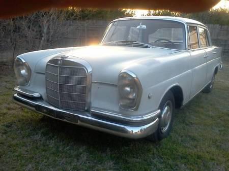1966 Mercedes 230S left front
