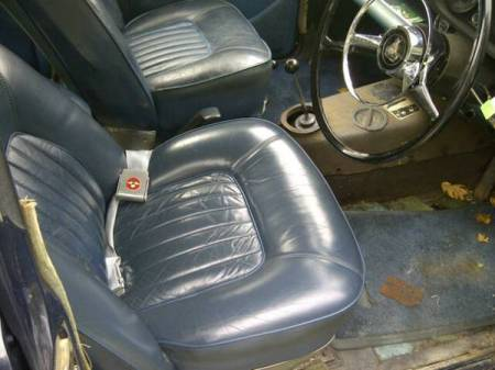 1967 Rover P5 3 Liter interior